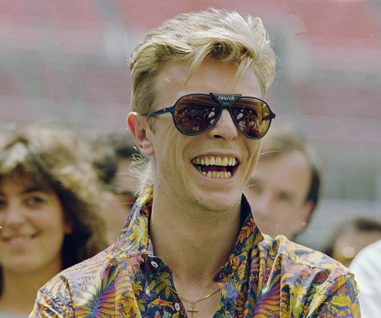 Image: Bowie in 1987