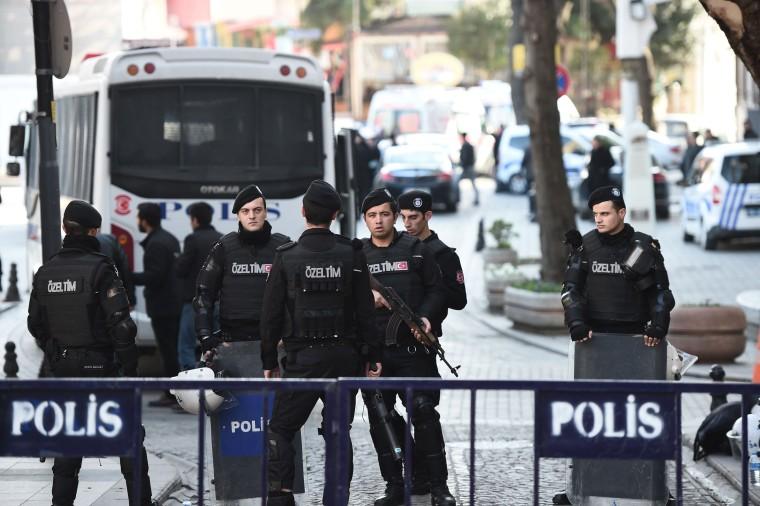 Image: TURKEY-BLAST