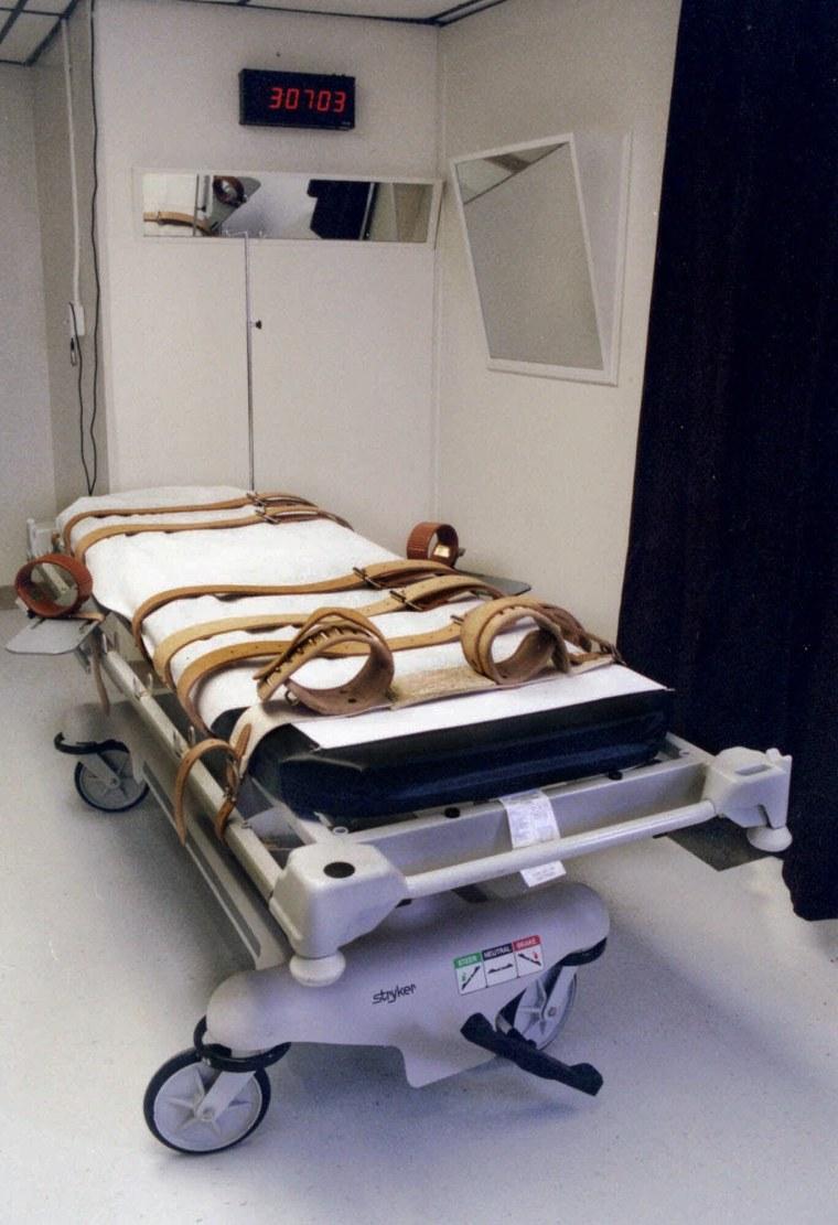 Image: LETHAL INJECTION GURNEY