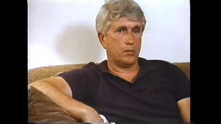 """This still, taken from the 1987 documentary """"Who Killed Vincent Chin?,"""" shows Ronald Ebens during an interview."""