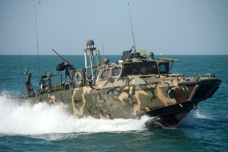 Image: Coastal Riverine Squadron 3 operations