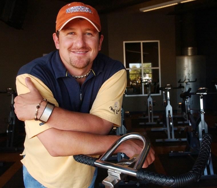 Image: Brad Duke lottery winner