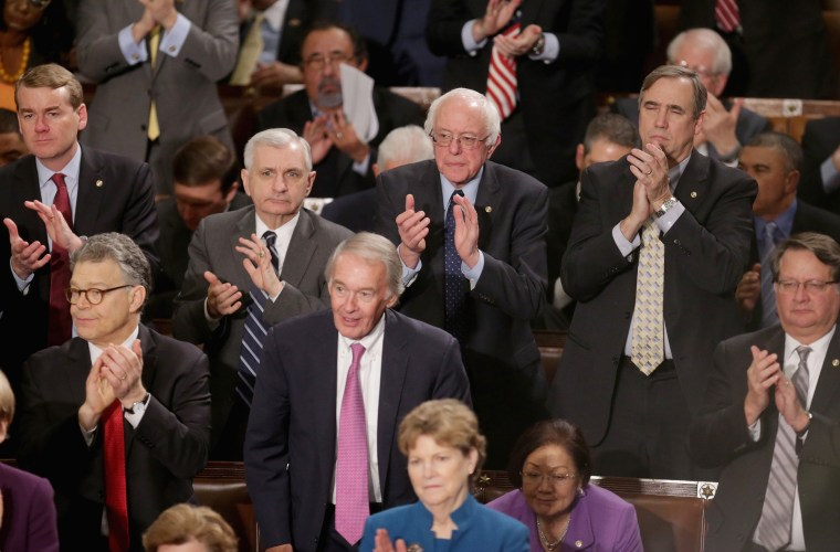 Image: President Obama Delivers His Last State Of The Union Address To Joint Session Of Congress