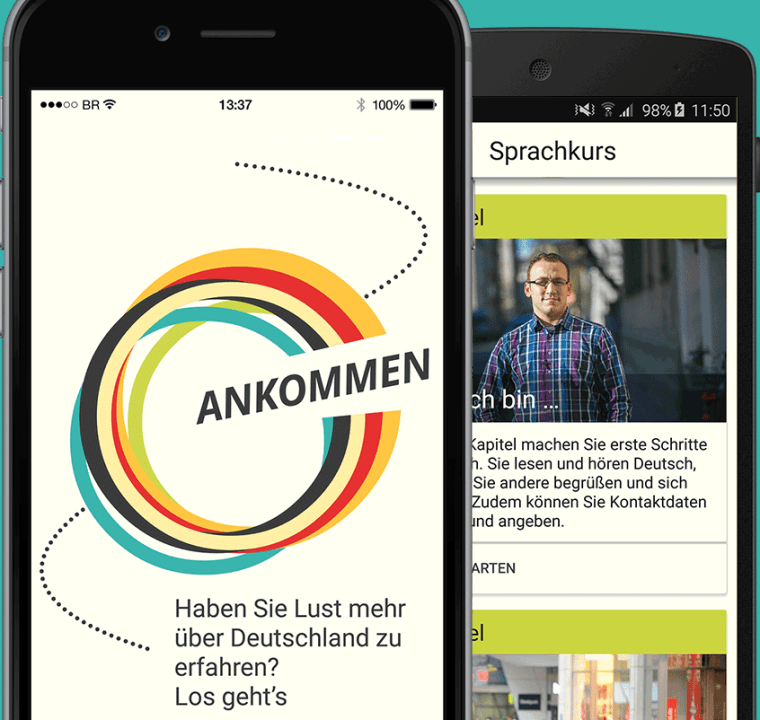 Ankommen! German App for Migrants Teaches Critical Info, Language Skills
