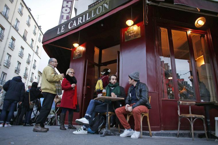 Image: FRANCE-PARIS-ATTACKS-BAR