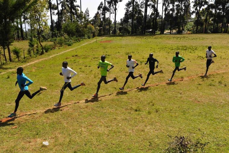 Image: TOPSHOT-ATHLETICS-KEN-CORRUPTION-DOPING-IAAF