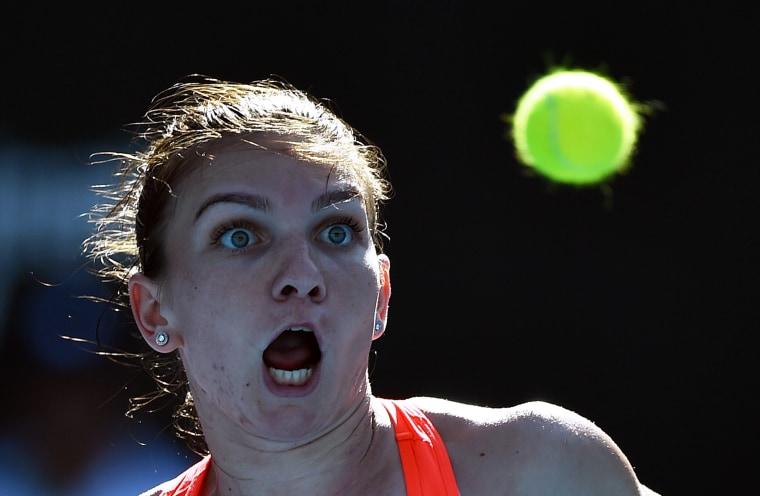 Image: TOPSHOT-TENNIS-ATP-WTA-AUS