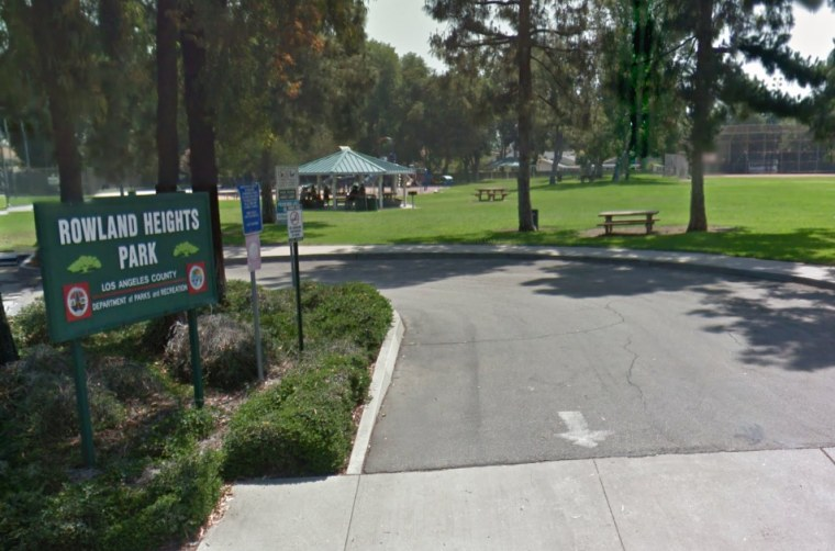 This image, taken from Google Maps, shows the park where a student testified she was taken, forced to strip, beaten, and burned with cigarettes in March 2015.