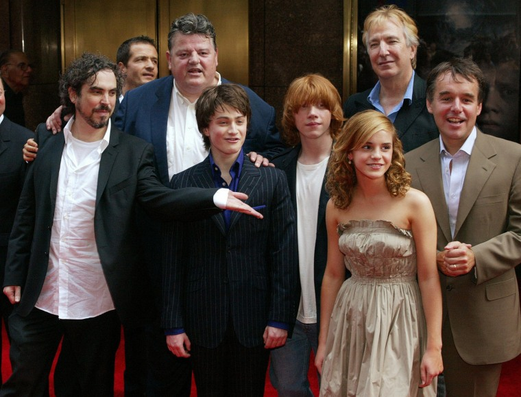 """Image: Cast members of \""""Harry Potter & the Pris"""