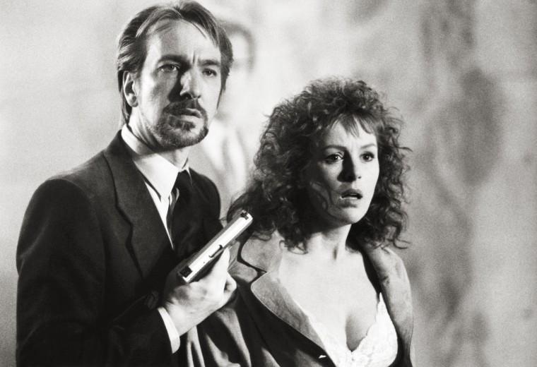 DIE HARD, from left: Alan Rickman, Bonnie Bedelia, 1988. ©20th Century-Fox Film Corporation, TM & Co