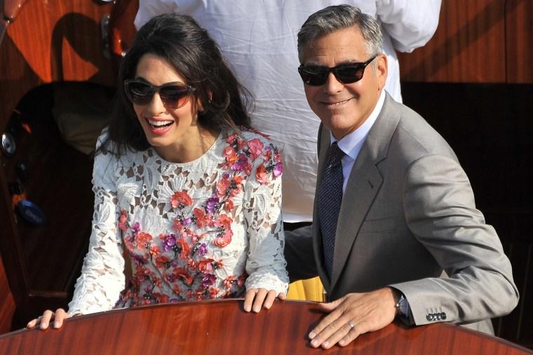 Amal Clooney Takes Maldives Human-Rights Battle to Washington