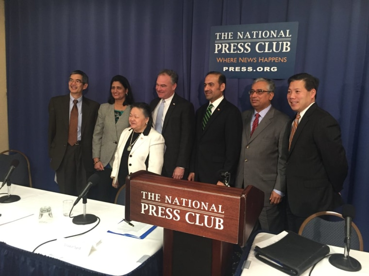 The AAPI Victory Fund announced its launch Thursday, Jan. 14, 2016, at the National Press Club in Washington D.C., becoming the first Super PAC specifically targeting Asian Americans and Pacific Islanders.