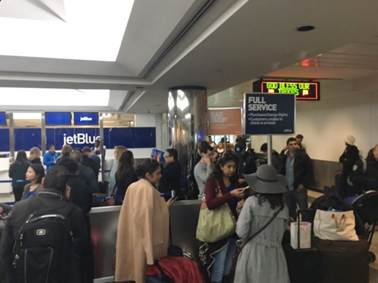 Image: Jetblue power outage