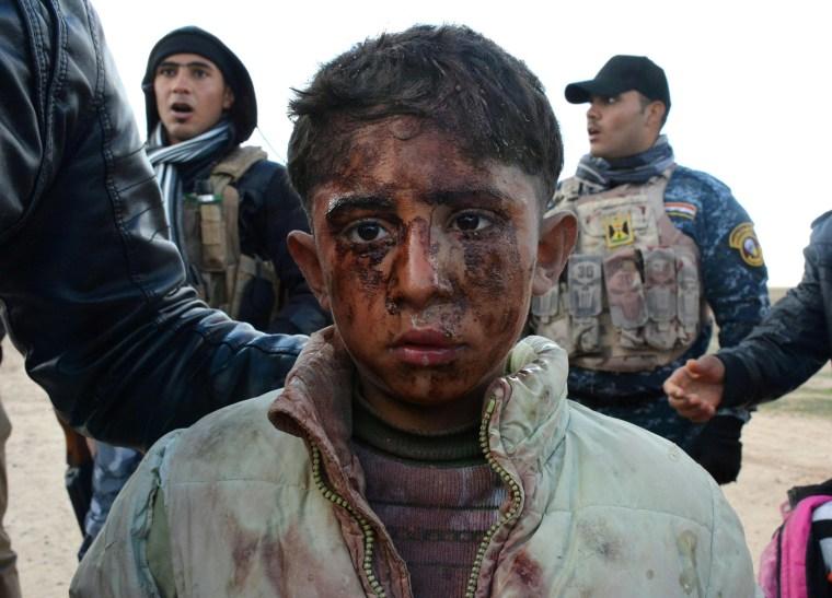 Image: IRAQ-CONFLICT-HAWIJAH