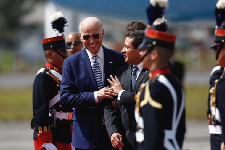 Image: Joe Biden, Carlos Raul Morales