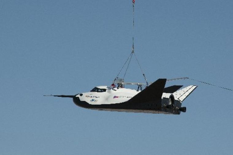 Image: Sierra Nevada Corp.'s Dream Chaser engineering test spacecraft