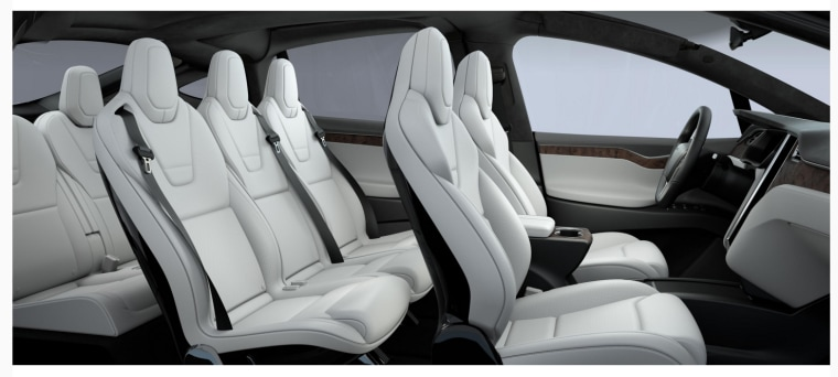 PETA, a shareholder of Tesla Motors, has succeeded in urging the electric car company to launch a fully vegan interior option for the Model X electric SUV. Vegan customers now have a high-end interior option for the Model X. (Photo : Tesla Motors)