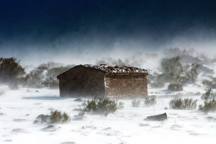 Image: Snow in Cantabria