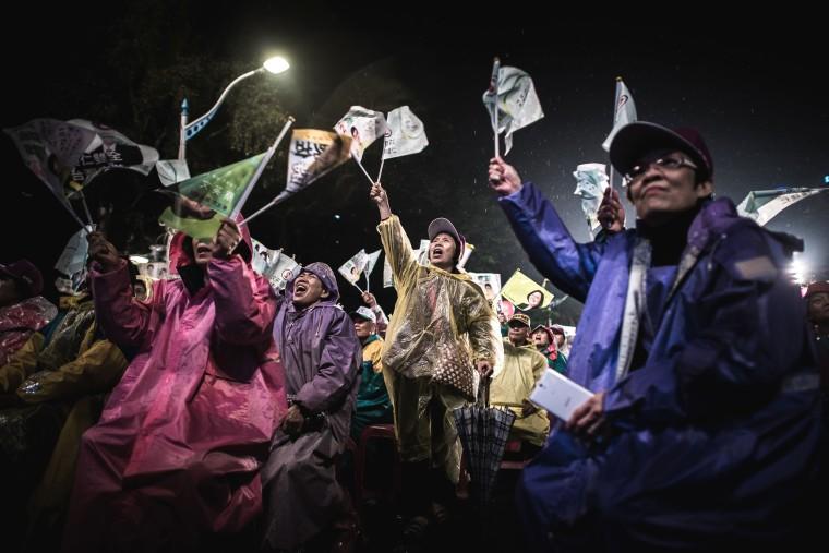 Image: TOPSHOT-TAIWAN-POLITICS-VOTE