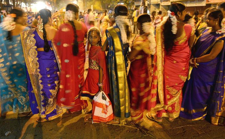 Image: TOPSHOT-INDIA-RELIGION-HINDU-FESTIVAL