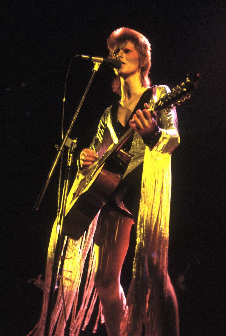 Glittery Bowie