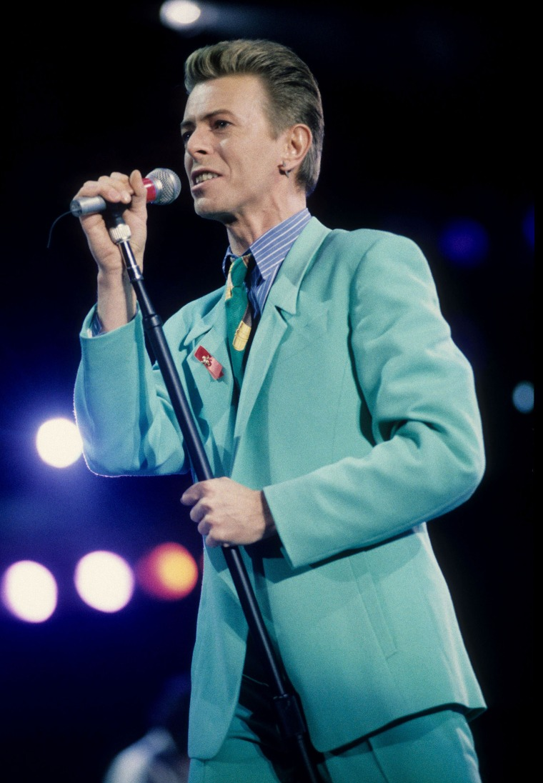Dapper Bowie
