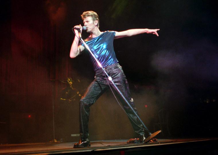Metallic Bowie