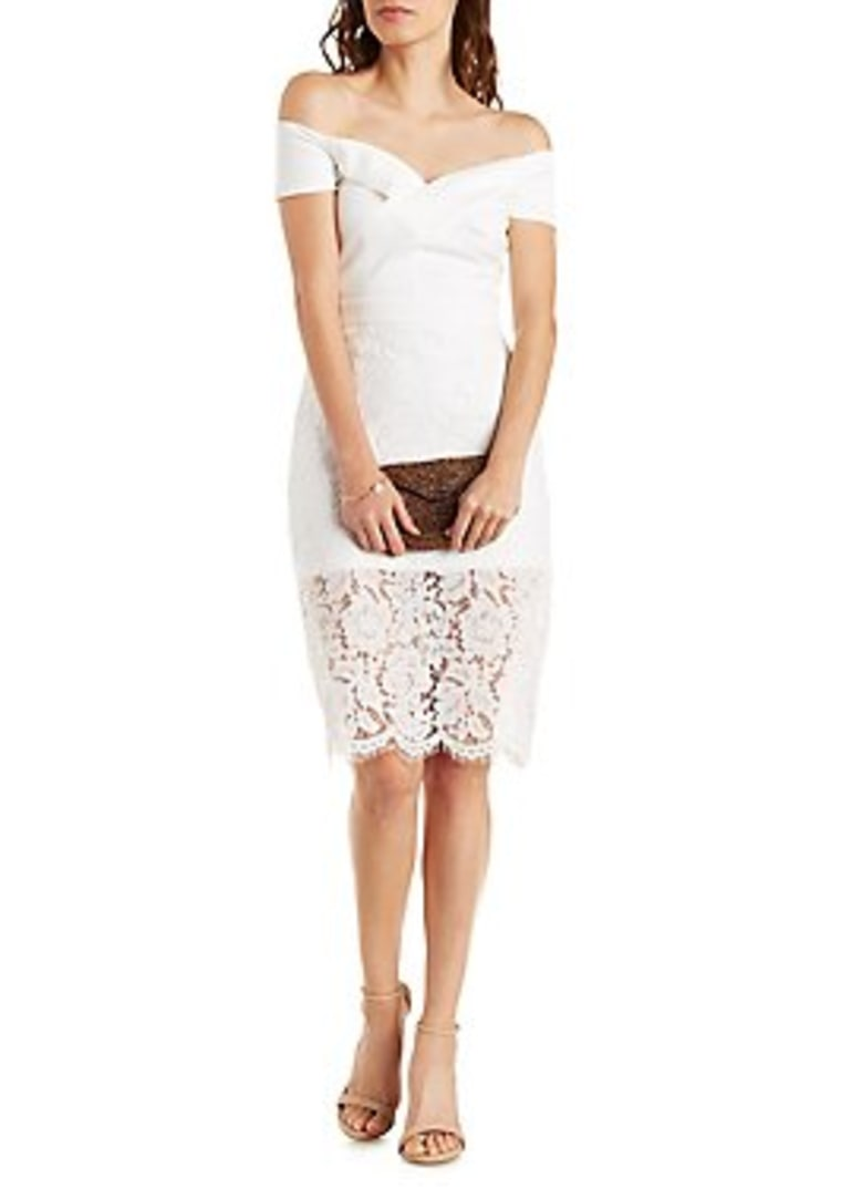 Charlotte Russe white dress