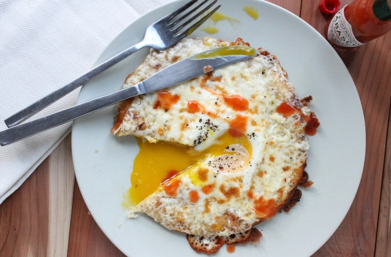 3–Ingredient Breakfast Pizza Bianco