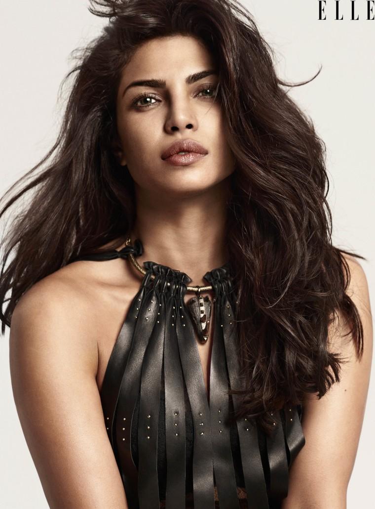 Priyanka Chopra in ELLE