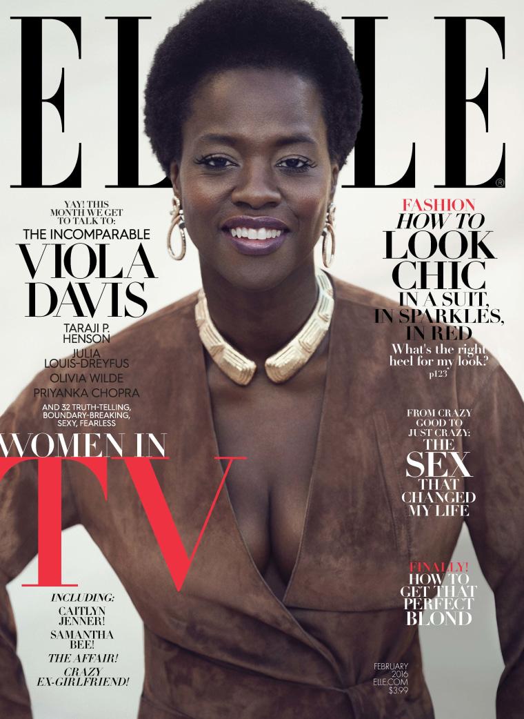 Viola Davis on ELLE magazine