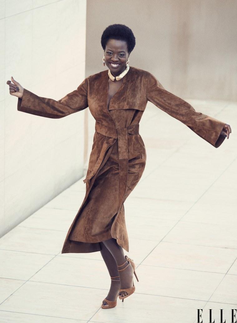 Viola Davis in ELLE magazine
