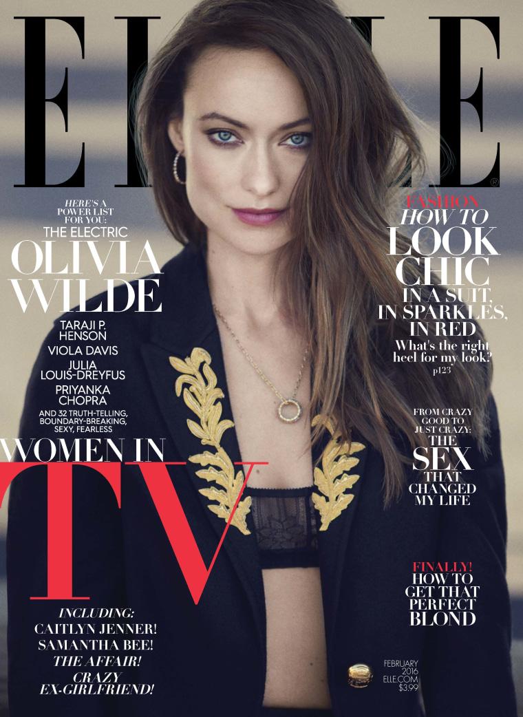 Olivia Wilde on ELLE magazine
