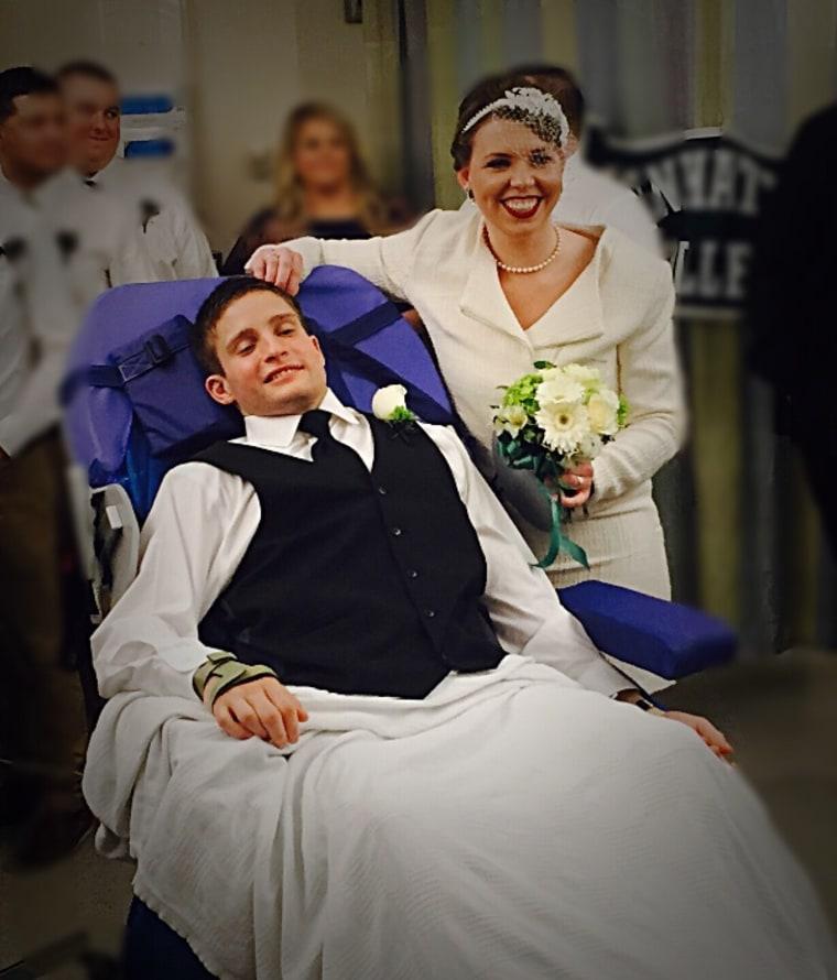 Garrett FitzGerald and Joan Lyall got married in a hospital