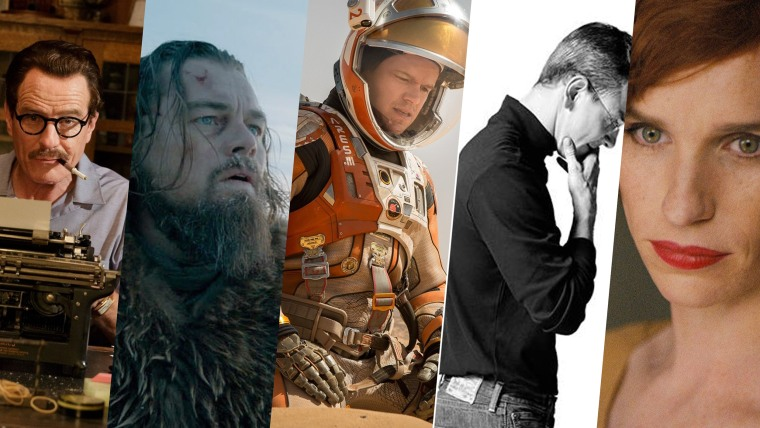 The Best Actor nominees for the 88th annual Academy Awards.