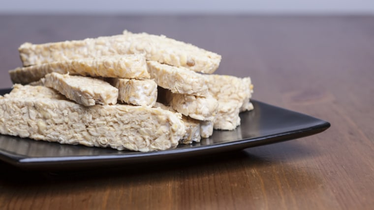 Raw Tempeh; Shutterstock ID 246624742; PO: today-food