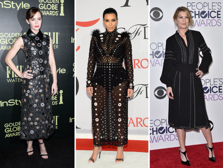 Emily Blunt, Kim Kardashian, Ellen Pompeo