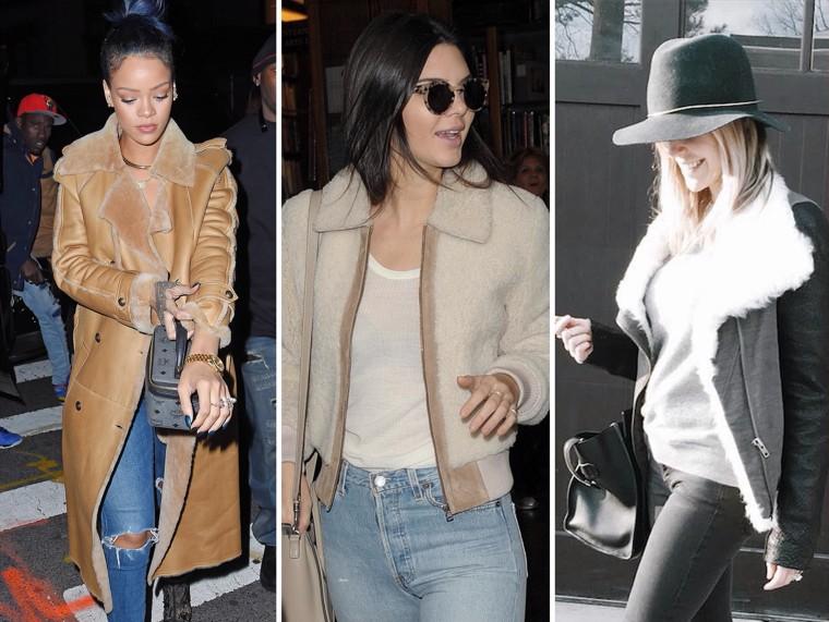 Rihanna, Kendall Jenner, Kristin Cavallari