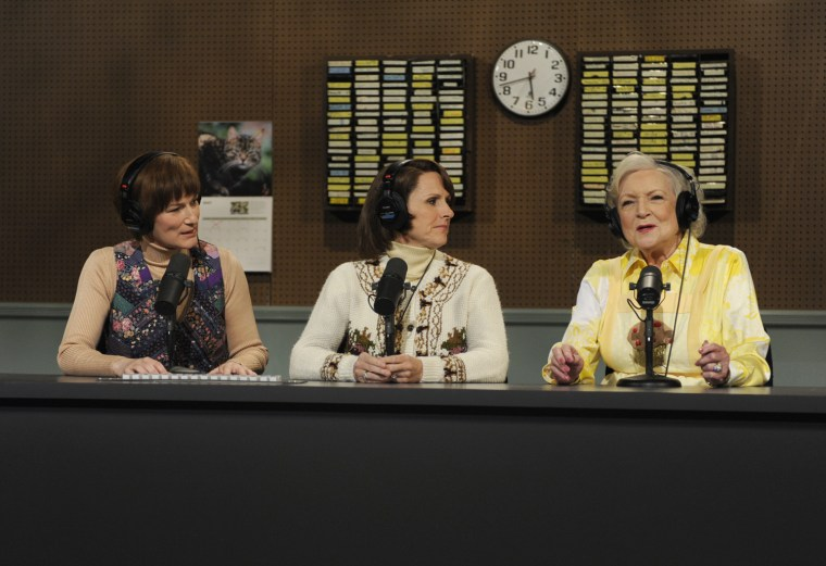 Dishing with 'SNL'