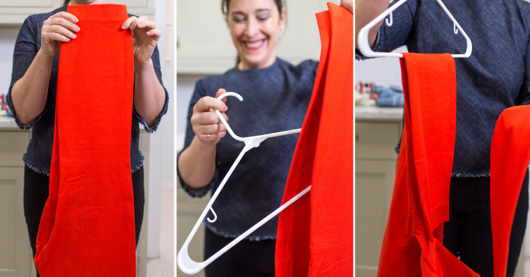 Stay organized: How to hang your pants