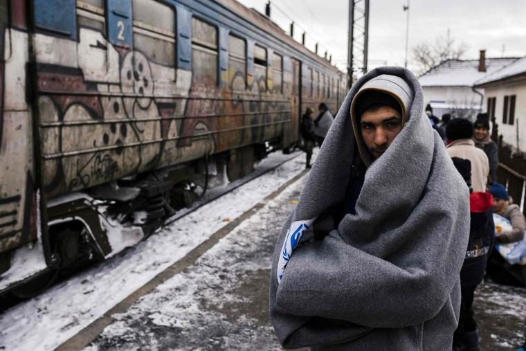 Image: TOPSHOT-SERBIA-EUROPE-MIGRANTS