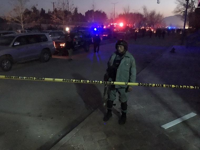 Image: Kabul blast site