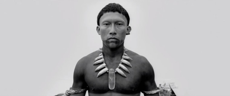 "A still from the trailer for ""Embrace of the Serpent."""