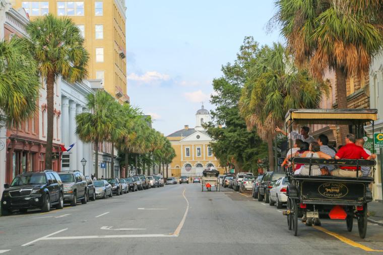Broad Street in Charleston