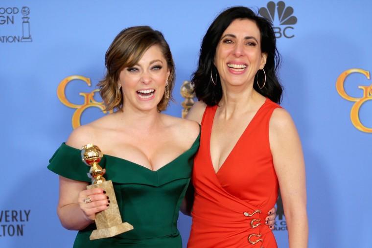 Image: 73rd Annual Golden Globe Awards - Press Room