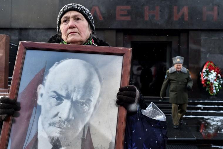 Image: TOPSHOT-RUSSIA-POLITICS-HISTORY-COMMUNISTS-LENIN