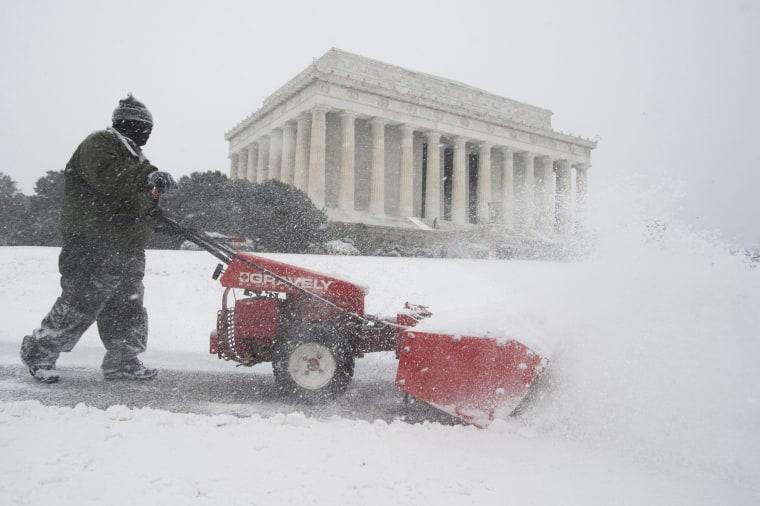 Image: Snowstorm Jonas in Washington DC