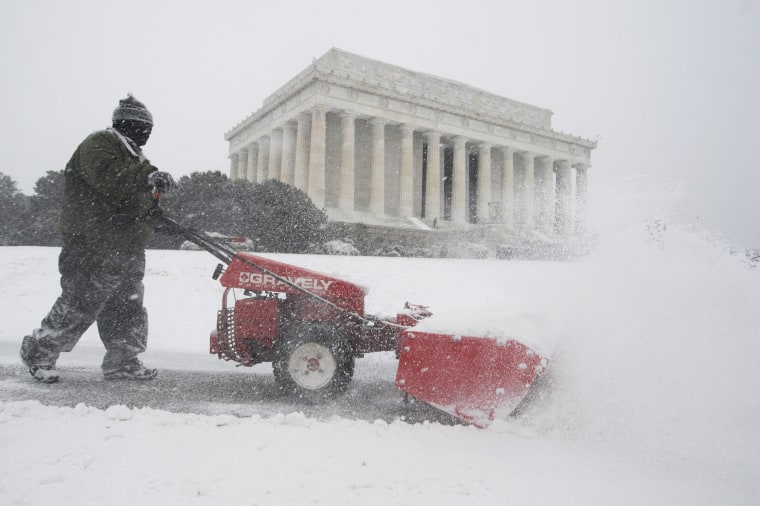Image: Snowstorm Jonas in Washington DC