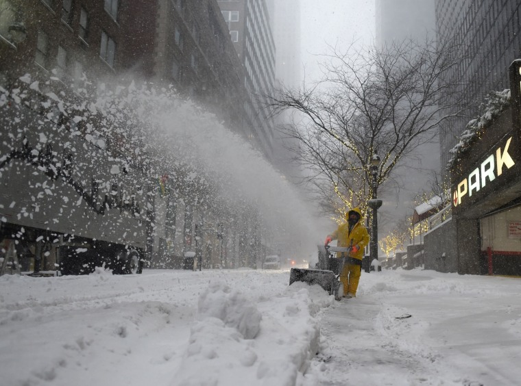 Image: US-WEATHER-SNOW