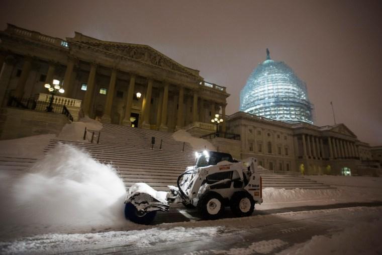 Image: Blizzard Hits Washington, DC